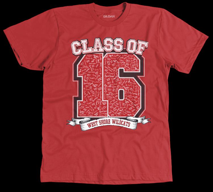 Senior class shirts 2015