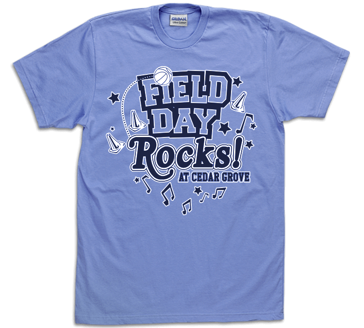 Field Day Shirt Designs | MyClass Tees