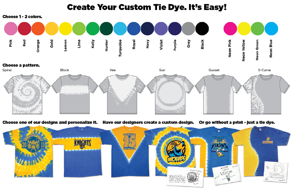 Sundog custom tie dye shirts sundog custom t shirt for How do you dye a shirt