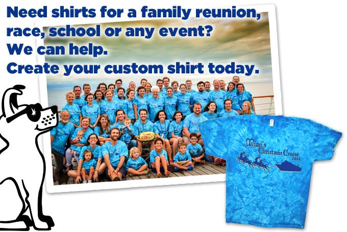 Custom Shirts for Any Event - Custom Tie Dye