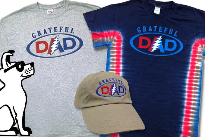 Grateful Dad Shirts and Hat