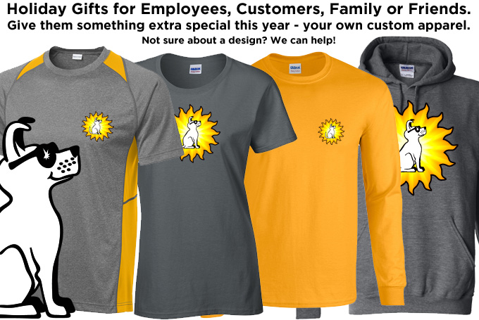 custom company shirts, screen printing embroidery