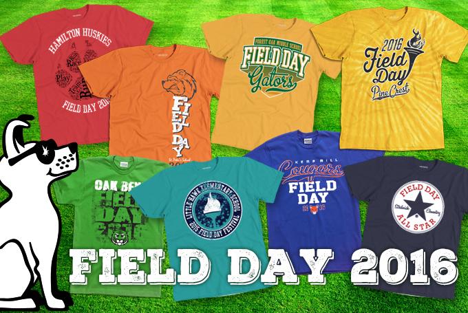 Field Day Shirts, T shirts, spirit wear