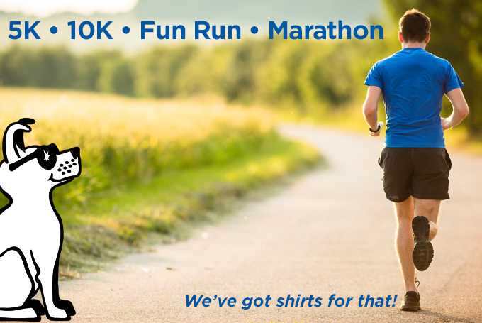 race shirts, t-shirts, screen print