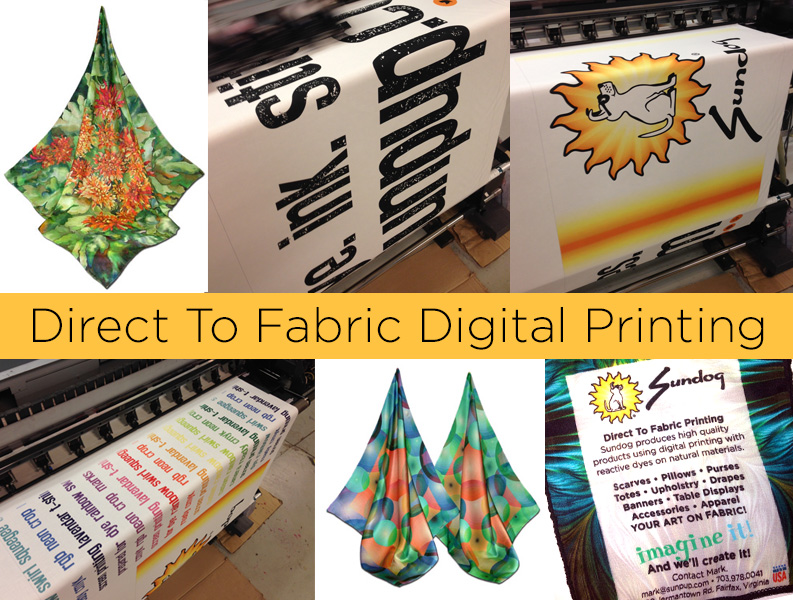 direct to fabric digital printing